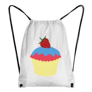 Plecak-worek Strawberry Cupcake