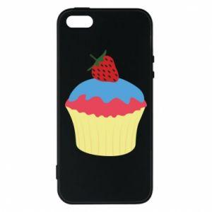 Etui na iPhone 5/5S/SE Strawberry Cupcake