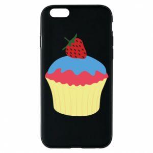 Etui na iPhone 6/6S Strawberry Cupcake