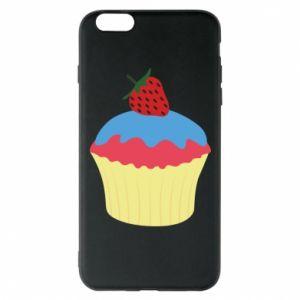 Etui na iPhone 6 Plus/6S Plus Strawberry Cupcake
