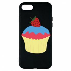 Etui na iPhone 7 Strawberry Cupcake