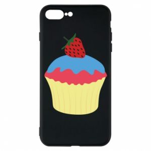 Etui do iPhone 7 Plus Strawberry Cupcake