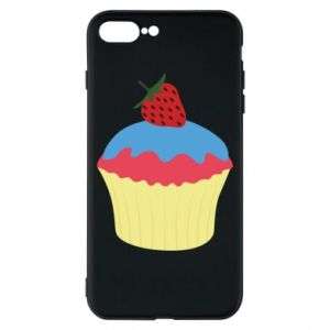 Etui na iPhone 8 Plus Strawberry Cupcake