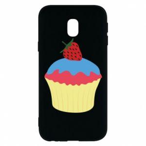Etui na Samsung J3 2017 Strawberry Cupcake