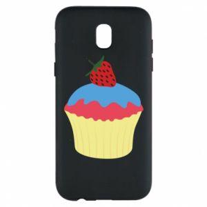 Etui na Samsung J5 2017 Strawberry Cupcake