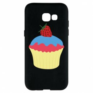 Etui na Samsung A5 2017 Strawberry Cupcake