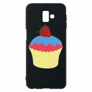 Etui na Samsung J6 Plus 2018 Strawberry Cupcake