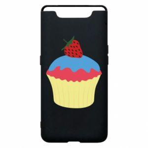 Etui na Samsung A80 Strawberry Cupcake