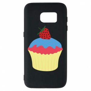 Etui na Samsung S7 Strawberry Cupcake