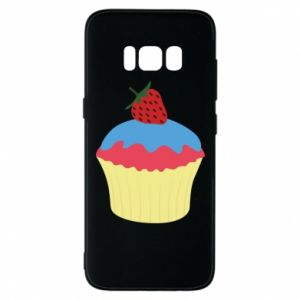 Etui na Samsung S8 Strawberry Cupcake