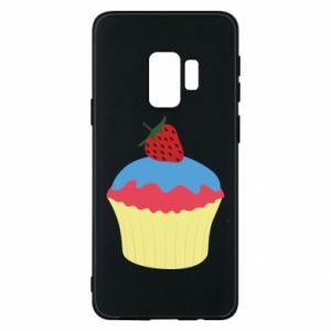 Etui na Samsung S9 Strawberry Cupcake