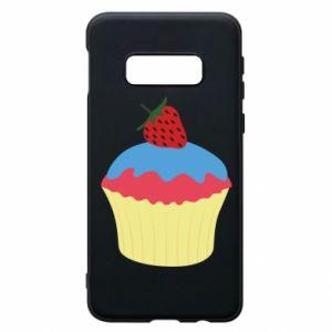 Etui na Samsung S10e Strawberry Cupcake
