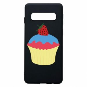 Etui na Samsung S10 Strawberry Cupcake