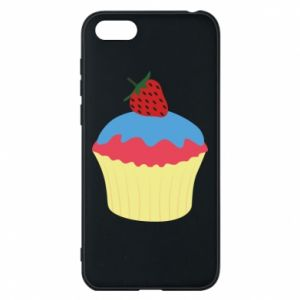 Etui na Huawei Y5 2018 Strawberry Cupcake