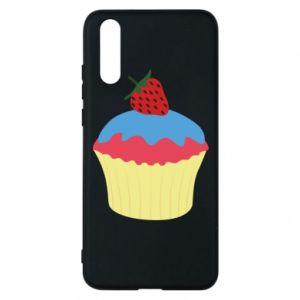 Etui na Huawei P20 Strawberry Cupcake
