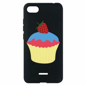 Etui na Xiaomi Redmi 6A Strawberry Cupcake