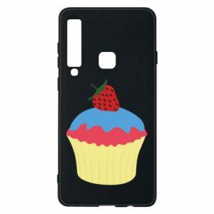 Etui na Samsung A9 2018 Strawberry Cupcake