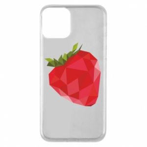 Etui na iPhone 11 Strawberry graphics