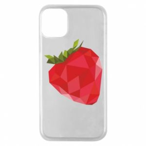 Etui na iPhone 11 Pro Strawberry graphics