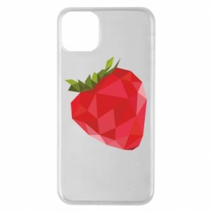 Etui na iPhone 11 Pro Max Strawberry graphics
