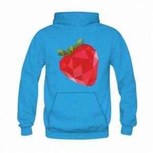 Bluza z kapturem dziecięca Strawberry graphics