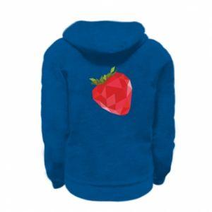 Bluza na zamek dziecięca Strawberry graphics