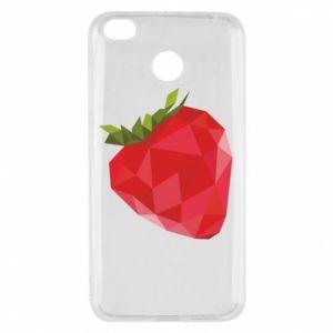 Etui na Xiaomi Redmi 4X Strawberry graphics