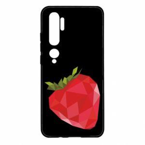 Etui na Xiaomi Mi Note 10 Strawberry graphics