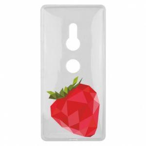 Etui na Sony Xperia XZ2 Strawberry graphics