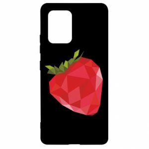 Etui na Samsung S10 Lite Strawberry graphics
