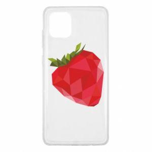 Etui na Samsung Note 10 Lite Strawberry graphics