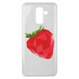 Etui na Samsung J8 2018 Strawberry graphics