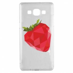 Etui na Samsung A5 2015 Strawberry graphics