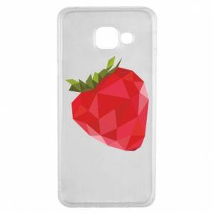 Etui na Samsung A3 2016 Strawberry graphics
