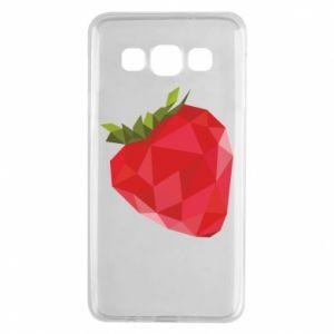 Etui na Samsung A3 2015 Strawberry graphics