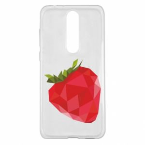 Etui na Nokia 5.1 Plus Strawberry graphics
