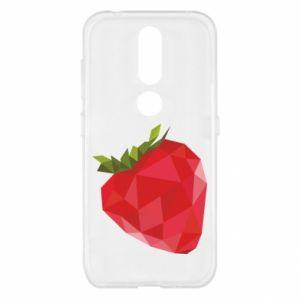 Etui na Nokia 4.2 Strawberry graphics