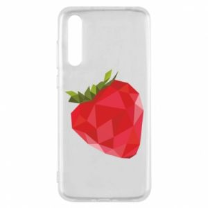 Etui na Huawei P20 Pro Strawberry graphics