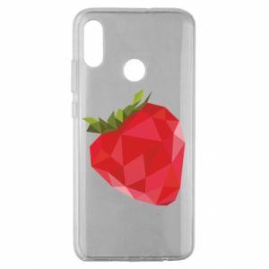 Etui na Huawei Honor 10 Lite Strawberry graphics