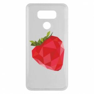 Etui na LG G6 Strawberry graphics