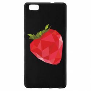 Etui na Huawei P 8 Lite Strawberry graphics