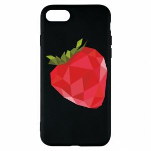 Etui na iPhone SE 2020 Strawberry graphics