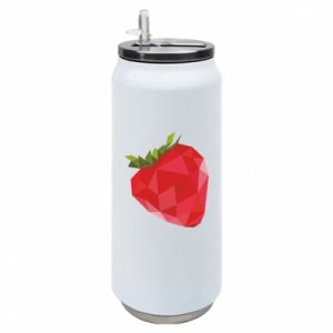 Puszka termiczna Strawberry graphics