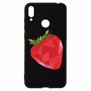Etui na Huawei Y7 2019 Strawberry graphics