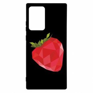 Etui na Samsung Note 20 Ultra Strawberry graphics