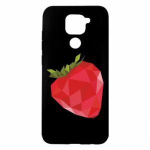 Etui na Xiaomi Redmi Note 9/Redmi 10X Strawberry graphics