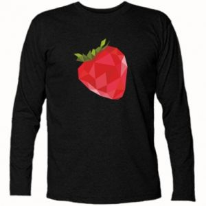 Long Sleeve T-shirt Strawberry graphics - PrintSalon
