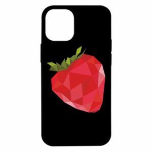 Etui na iPhone 12 Mini Strawberry graphics