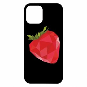 Etui na iPhone 12/12 Pro Strawberry graphics