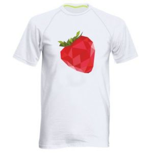 Men's sports t-shirt Strawberry graphics - PrintSalon